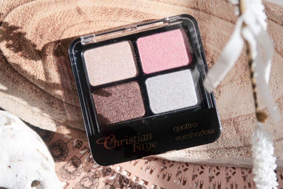 Christian, Faye, eyeshadow, palette, Quattro, makeup, look, beauty, blogger, yustsome, sample