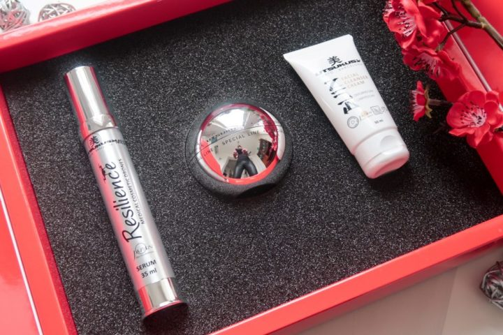 Utsukusy, resilience, facial cleanser, crème, serum, verstevigend, verjongend, Japan, Barcelona, beauty, mooi, blog, yustsome