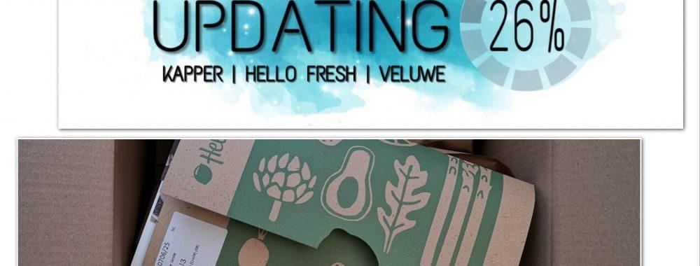 Updating, weekoverzicht, week, Veluwe, kapper, Freedom, haren, pannenkoek, Zeewolde, landal, Hello Fresh
