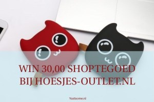 Win 30,00 shoptegoed | Hoesjes-Outlet