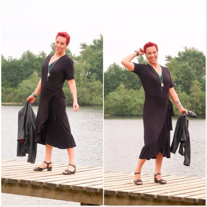 Birthday, dress, jacket, fake, leather, black, freequent, Voillant, wehkamp, review, fashion, mode, blog, yustsome