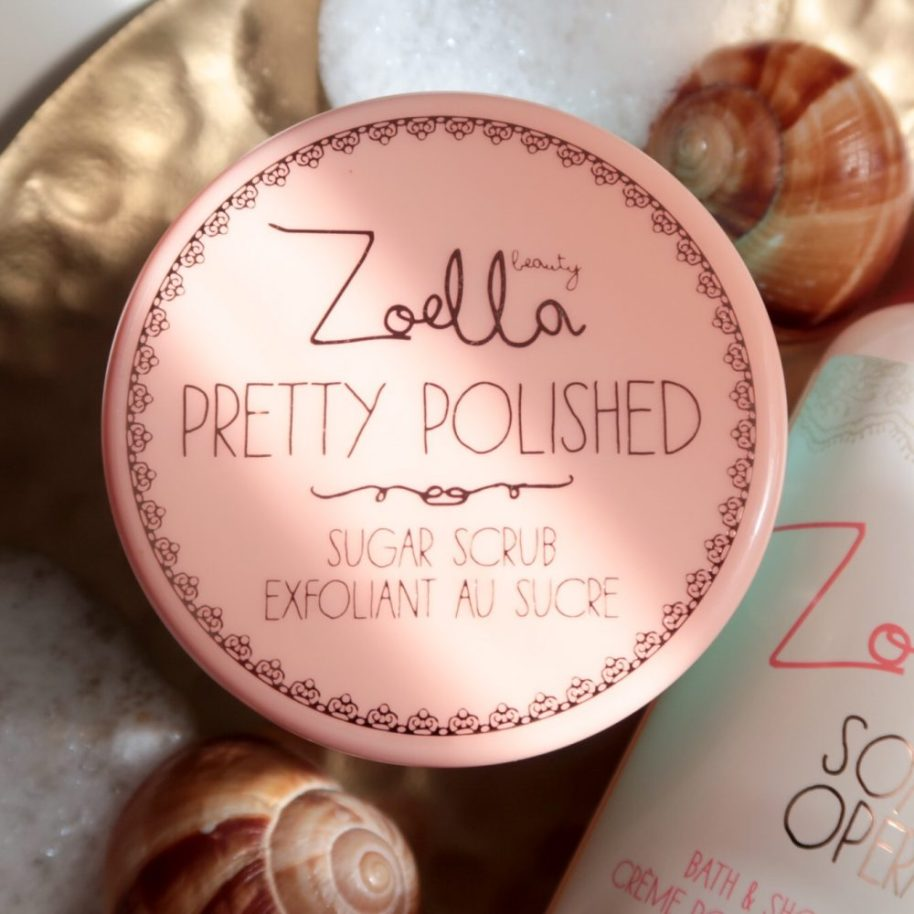 Zoella, beauty, Pretty, polished, bad, scrub, soap, opera, beauty, blog, yustsome, bol.com