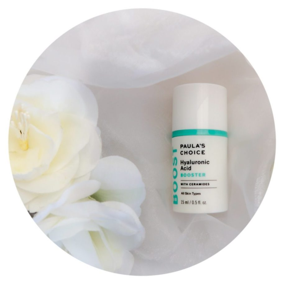 Paula's choice, hyaluronic, acid, booster, vochtarm, droge, huid, review, supplement, toevoeging, beautysome