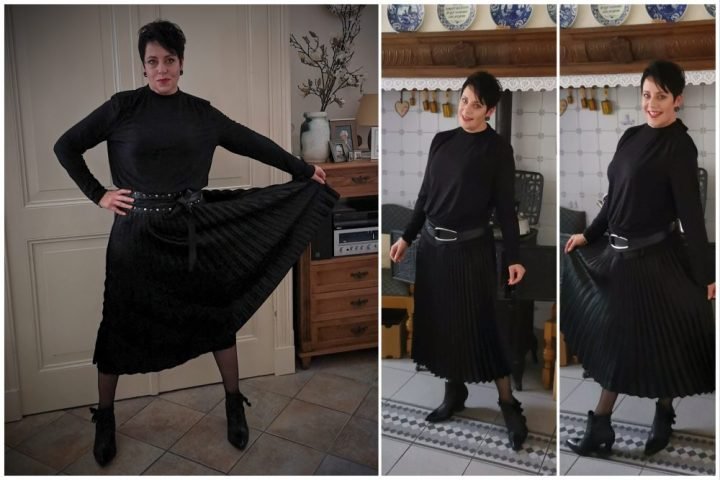 Feest, mama, papa, 25 jaar, geplooide, rok, plated skirt, fashion, over40, beautysome, plooirok, 2