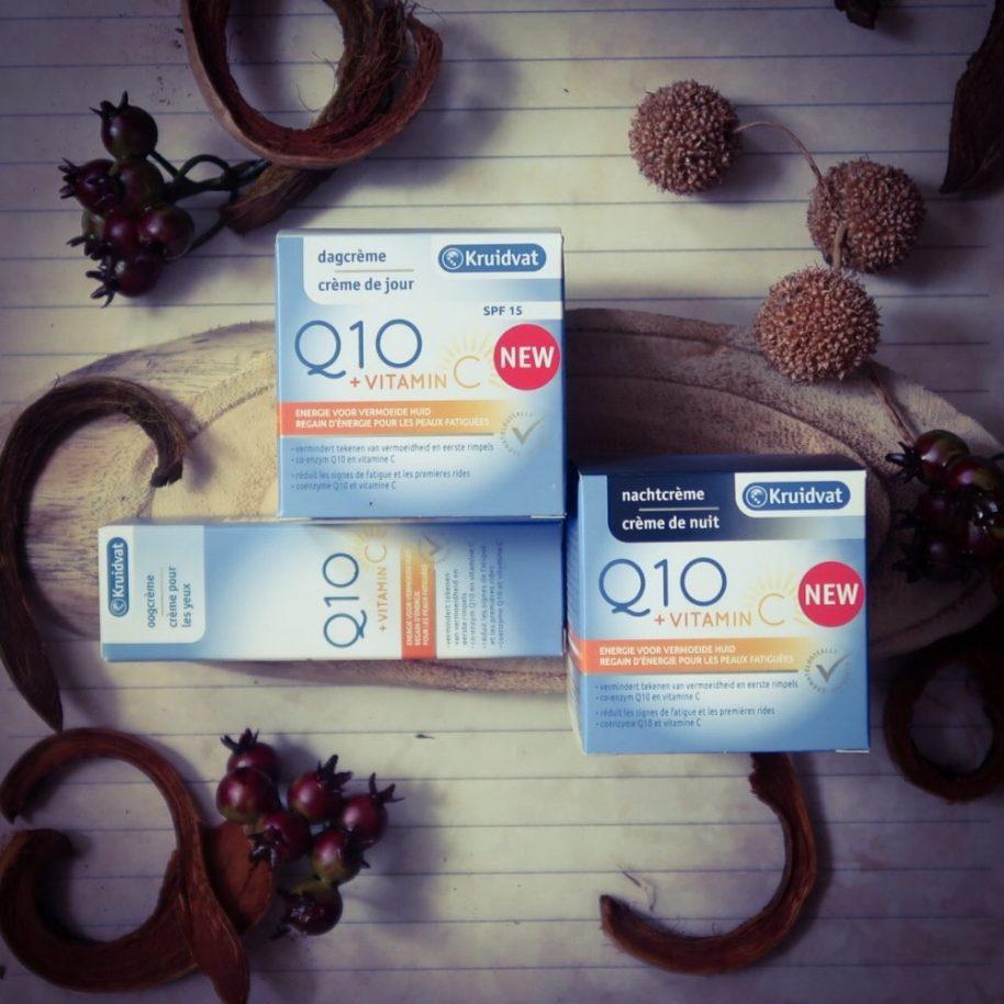 Kruidvat, Q10, dagcrème, nachtcrème, oogserum, spf, vitamine C, beauty, review, test, getest, beautysome, blog