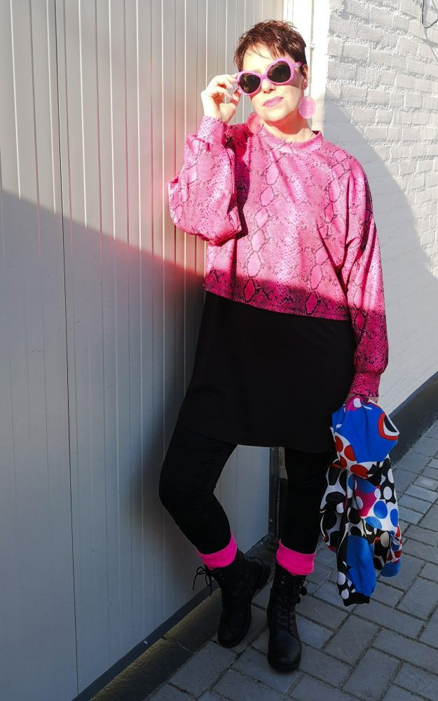 Match Made in Seven,neon, pink,fashion, style, mode, bershka, beautysome