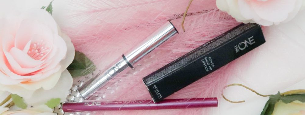 Oriflame, on tour, online, webshop, lipstick, eyepencil, review, beauty, producten, the one, Shine, beautysome, 1