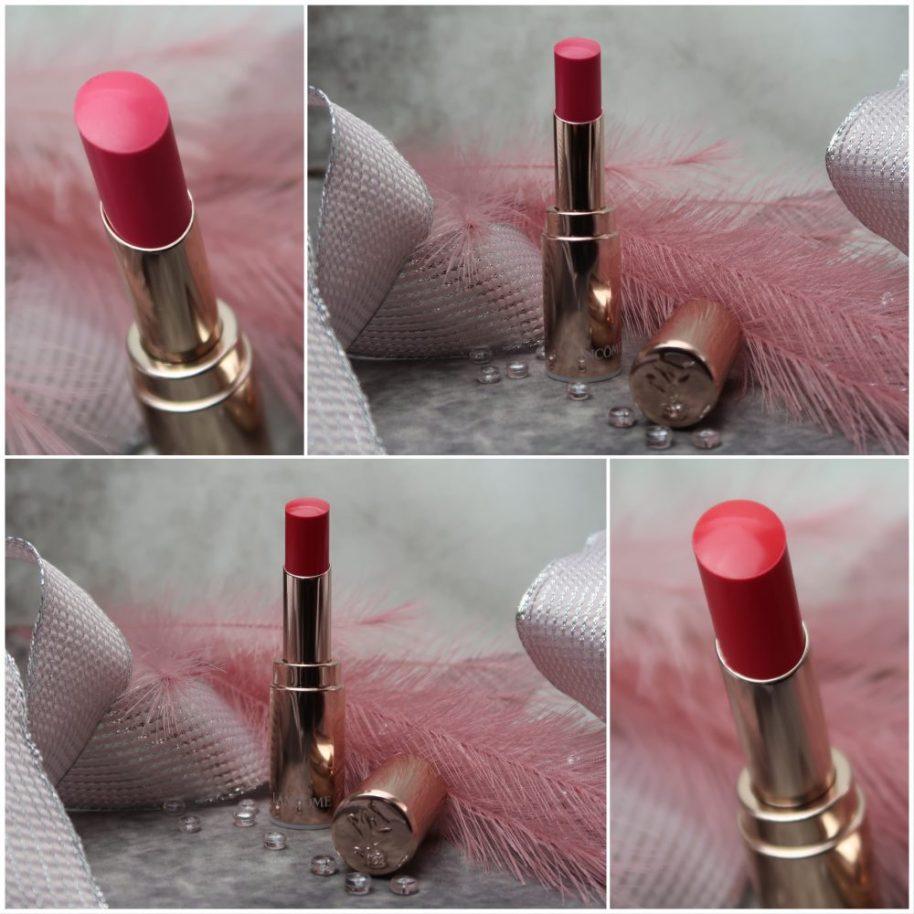 Lancôme, mademoiselle, lipstick, Swatch, butter, verzorging, proxylane, rozenolie,