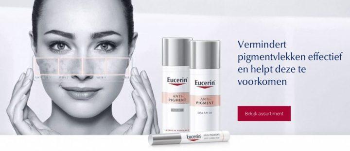Eucerin, pigmentvlekken, pigment, ouderdom, oud, anti-age-beautysome, nieuw, voorkomen, help