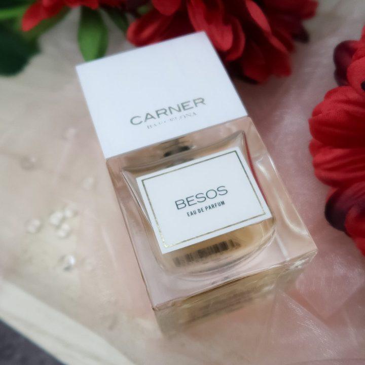 Besos, Carner, Barcelona, bloemig, geur, parfum, Bijenkorf, kusjes, review, Beautysome