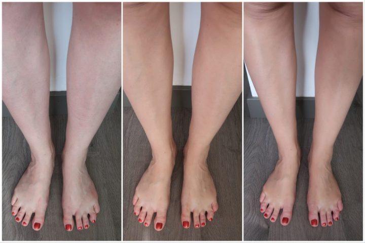 Satin, leg, finish, fake, panty, benen, look, zonder, zon, bruin, make-up, factory, beautysome
