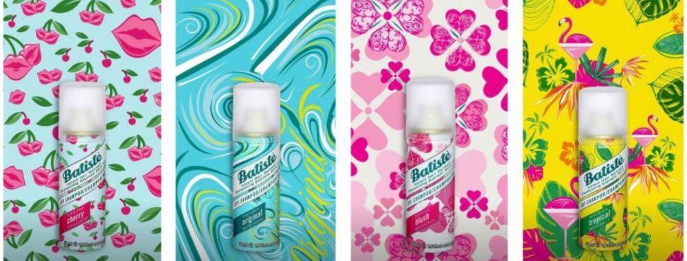Bastiste, droog, shampoo, zonder, wassen, schoon, haar