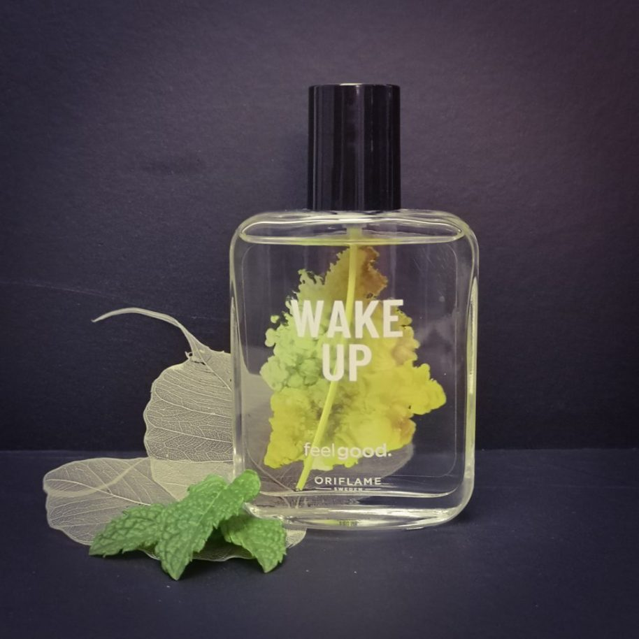 Oriflame, wake up, loved up, EDT, Shower gel, review, blog, beautysome, nieuw, Yuzu, mint