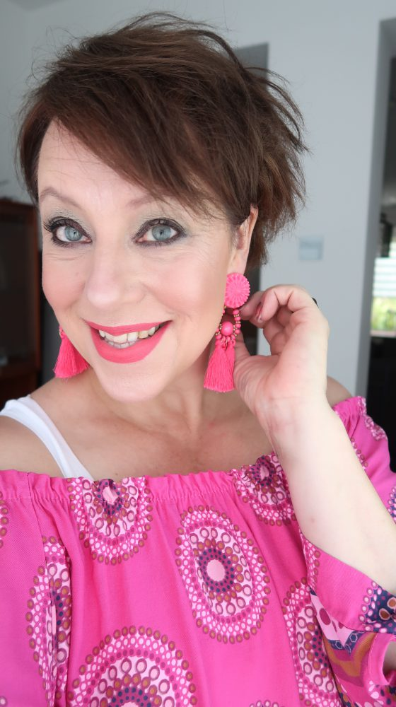 California, Dreaming, fashion, post,fashionista, pink, white, beach, wear, sun, 50 plus, beautysome, Handel, Rooie plas