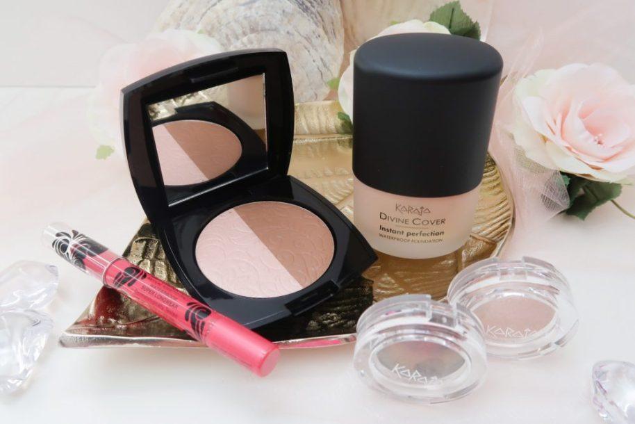 Karaja, devine, cover, foundation, summer, look, eyeshadow, lipstick, matte, contour, palette, review, 40 plus, 50 plus, beauty, make-up