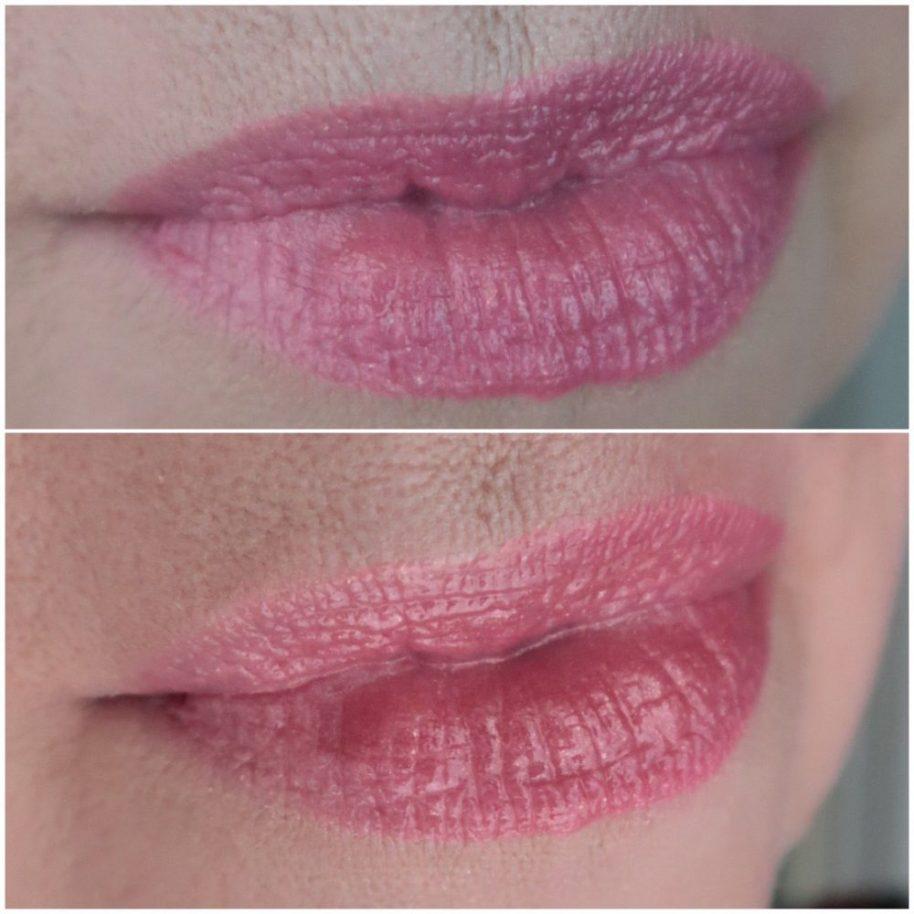 Combinatie, lipgloss, lipstick