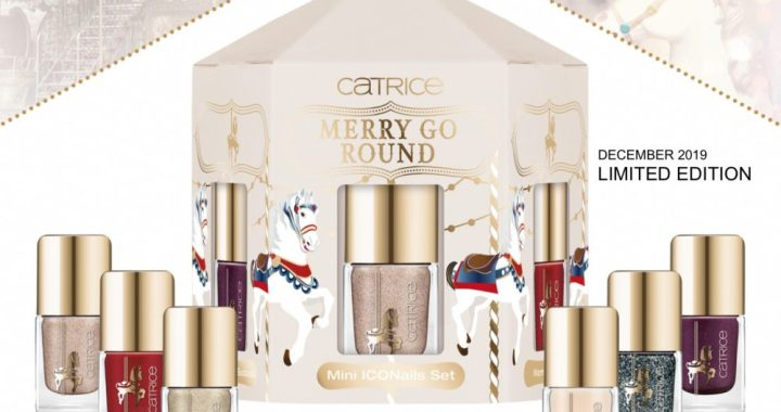 Iconnails, mini, Catrice, kerst, editie, limited, edition, merry go round