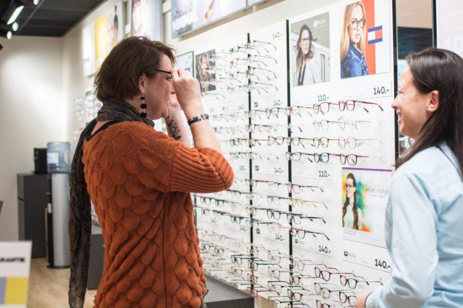 Pearl, bril, uitzoeken, variofocaal, enkelvoudige, glazen, lenzen