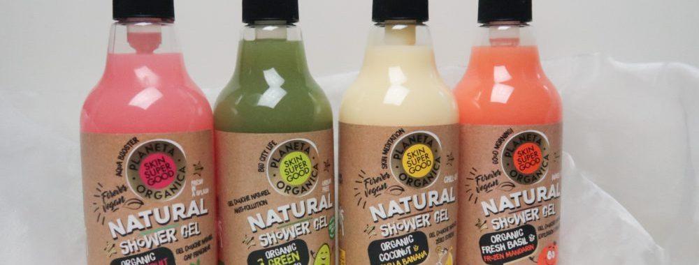 Planeta organica, superfood, douche, no stress, relax, natuurlijk, zeep, wassen, Coco's, mandarijn, passievrucht, Banaan, pepermunt,
