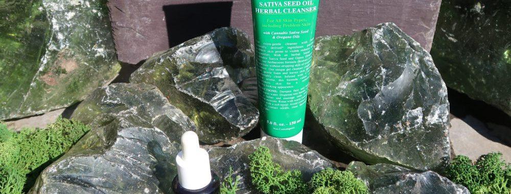 Sativa, olie, oil, seed, cannabis, hennep, zaad, kiehl's, kiehls, review, reiniging, skin, huid