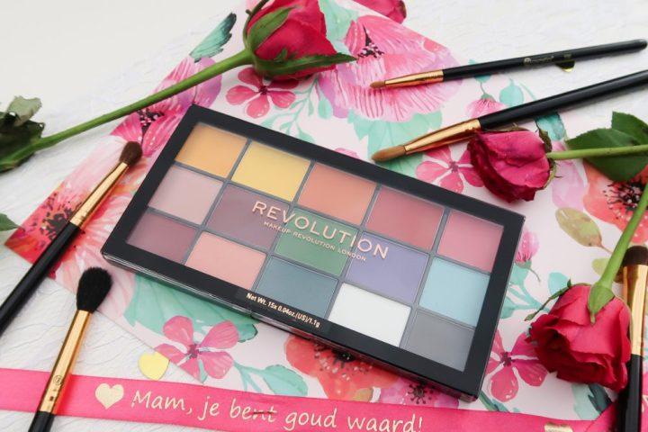 Revolution, marvellous, mattes, oogschaduw, eyeshadow, palette, beauty, makeup, bright, colors, beautysome