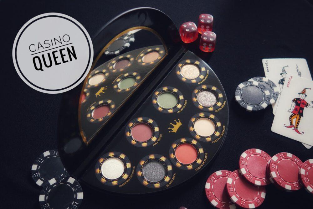Casino Queen   Makeup look met een Action palette