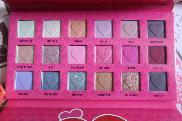 2 me, Luv me | Oogschaduwpalette NYX
