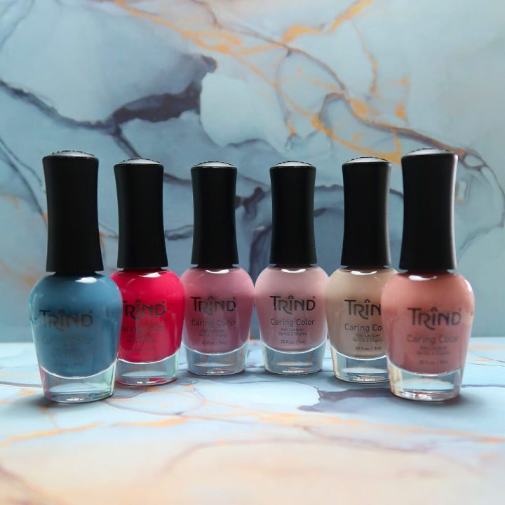 Trind, caring, color, back to basics, zomer, voorjaar, 2021, swatches, nude, nagellak, limited edition,