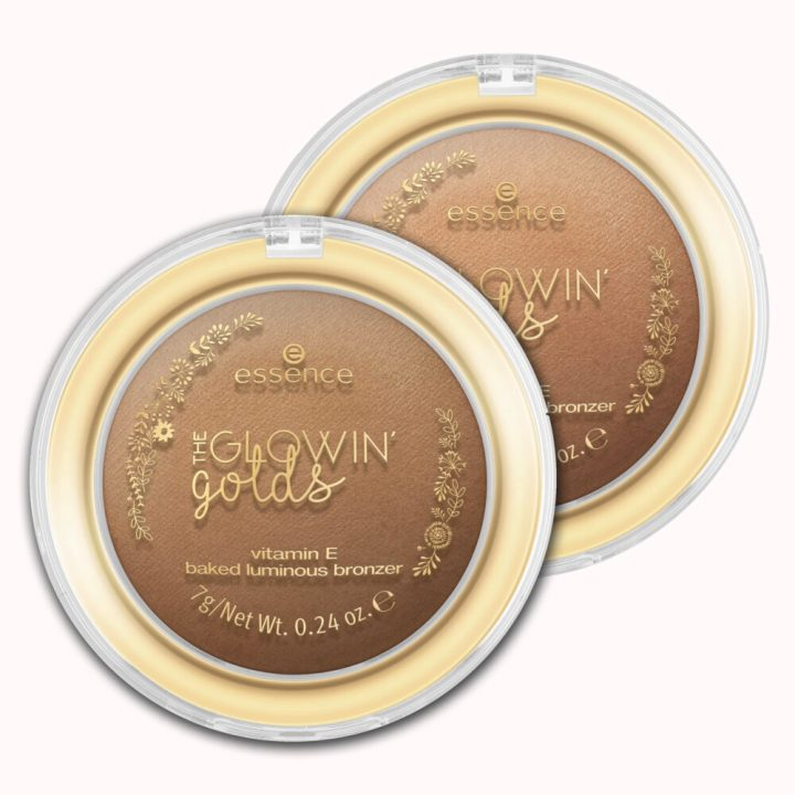 GlowinGolds, baked, bronzer