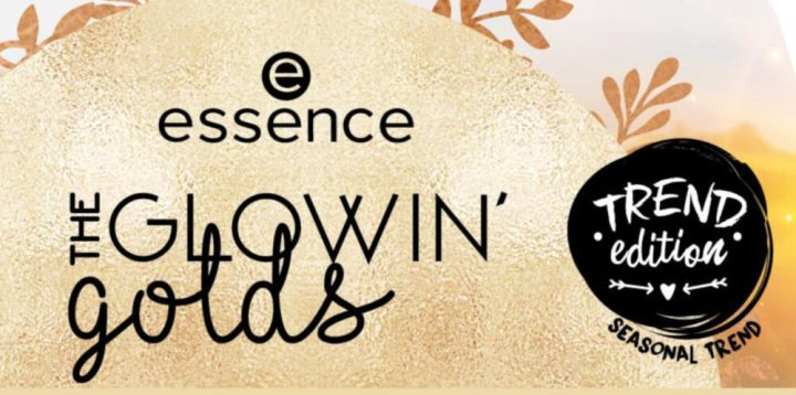 essence Trend Edition the glowin' golds | NIEUW