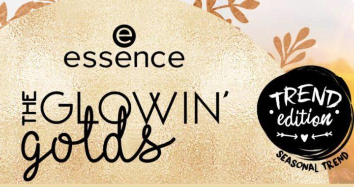 essence Trend Edition the glowin' golds | NIEUW