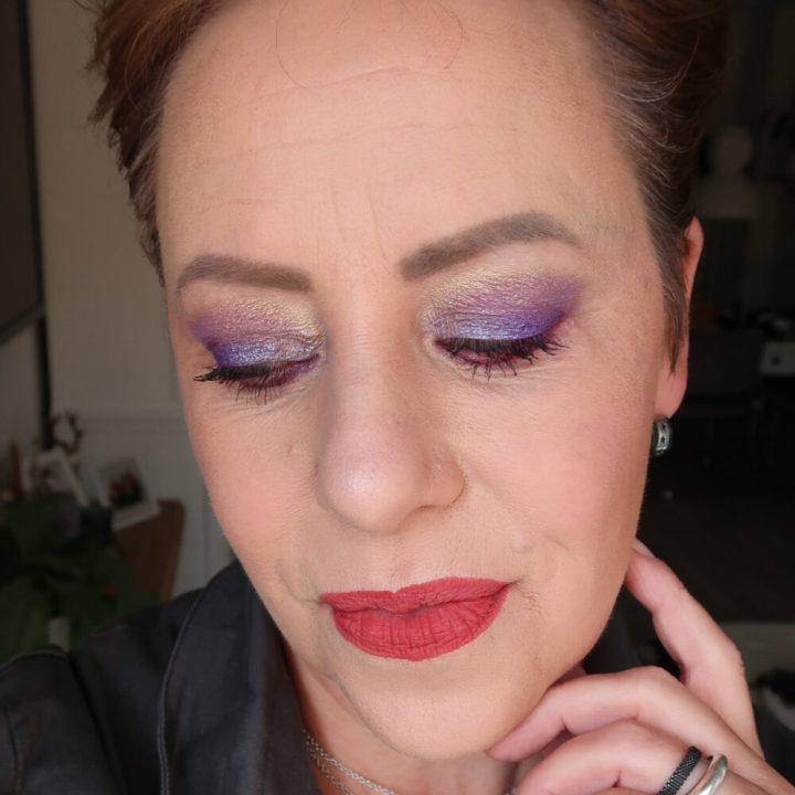 Rude cosmetics, reckless, 20-ties, rebel, eyeshadow, palette, ici Paris xl, review, oogschaduw, felle, kleuren, matte, shimmers, glinsteren, beauty, make-up