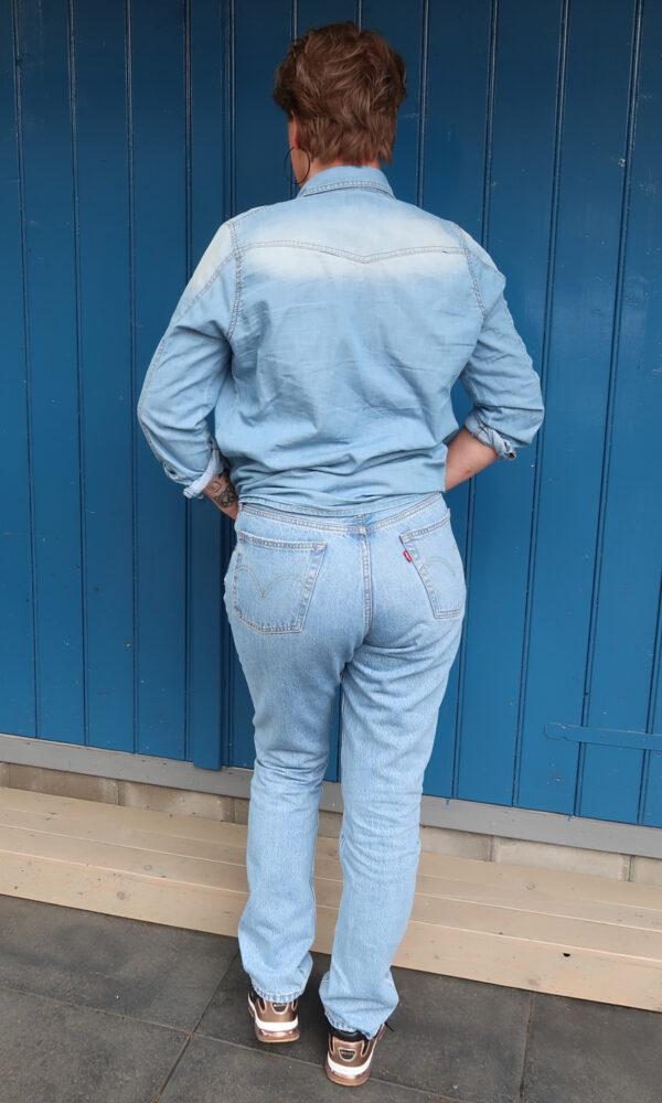 Levis 501, jeans, old, fashion, new, trend, spijkerbroek, kringloop, koopje, 50 plus, c