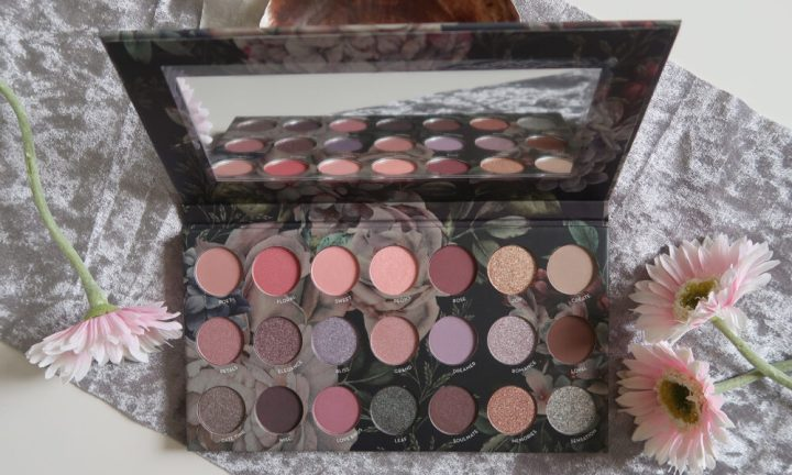 Floral, max and more, oogschaduw, eyeshadow, palette, budgettip, Romance, beauty, blog, review, action, nederland