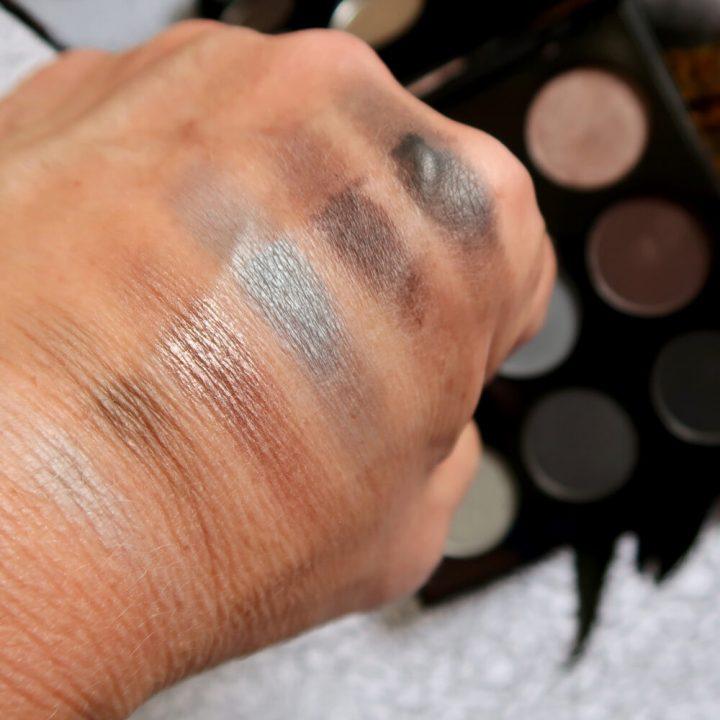 Morphe, eyeshadow, palette, black, grey, 9W, sale, budget, koopje, beautysome, yustsome, smokey, eyes, 2