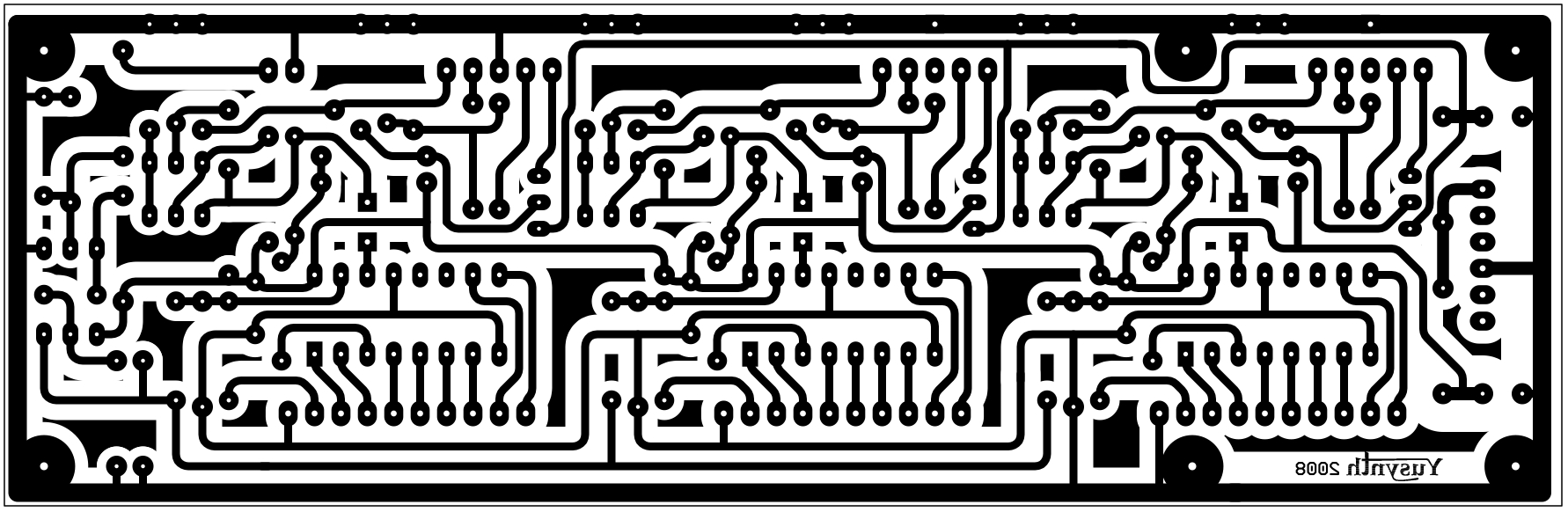 hight resolution of printed circuit board and component layout