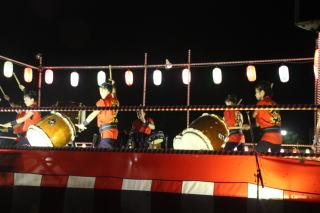 佐倉勇翔太鼓ユーカリ祭りでのアトラクション演奏