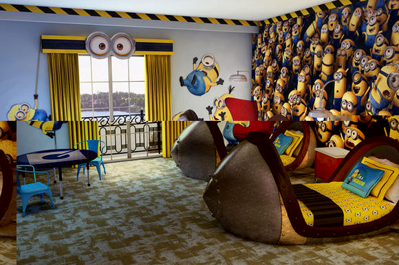 ユニバーサルスタジオオーランドのホテル