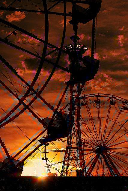 ... の夕焼け | 遊園地ドットコム