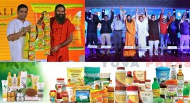 Baba Ramdev led Patanjali Ayurved goes online. Partnership with 8 E-Commerce companies. Hindustan Unilever Ltd(HUL), Amazon, Grofers