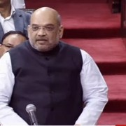BJP president Amit Shah debut speech Rajya Sabha; better to sell pakoda rather unemployment.
