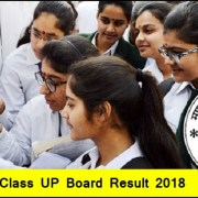 UP Board Result 2018