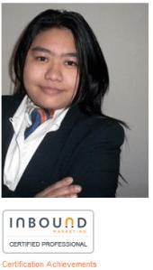 yu yu din - Inbound Marketing certified professional