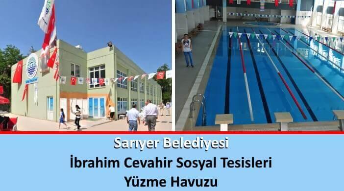Sarıyer Belediyesi İbrahim Cevahir Sosyal Tesisleri Yüzme Havuzu