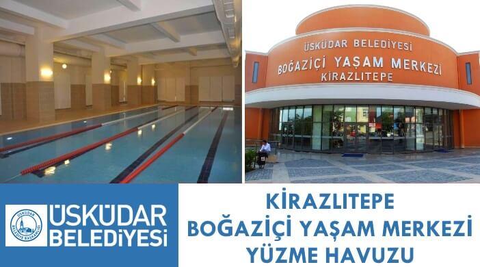 Üsküdar Belediyesi Kirazlıtepe Boğaziçi Yaşam Merkezi Yüzme Havuzu
