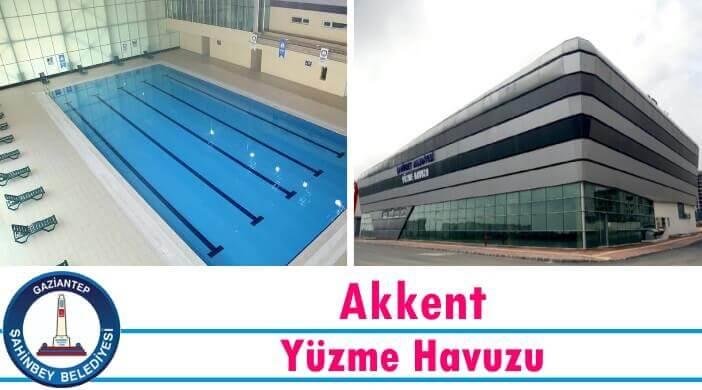 Gaziantep Şahinbey Belediyesi Akkent Yüzme Havuzu