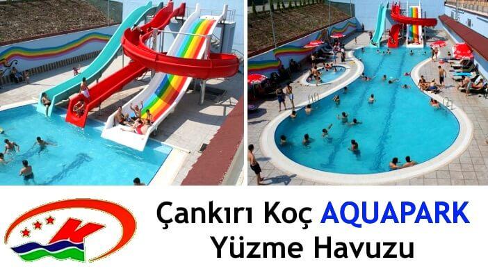 Çankırı Koç Aquapark Yüzme Havuzu