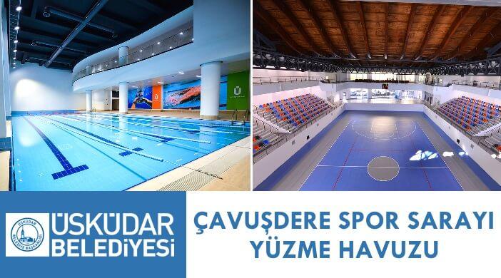 Üsküdar Belediyesi Çavuşdere Spor Sarayı Yüzme Havuzu