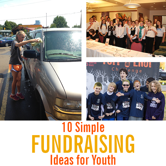 6.30.15 10 Simple Fundraising Ideas for Youth