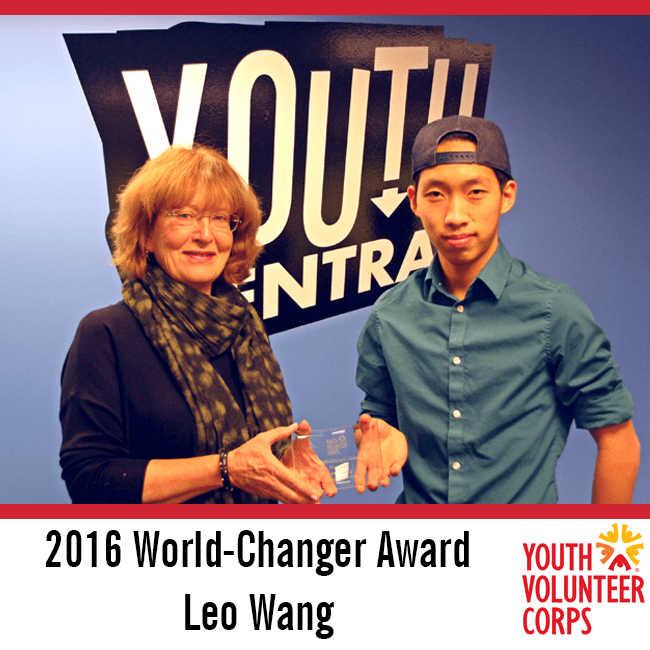 2016 World-Changer - Leo Wang